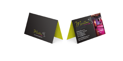 Fold Over Business Card Printing
