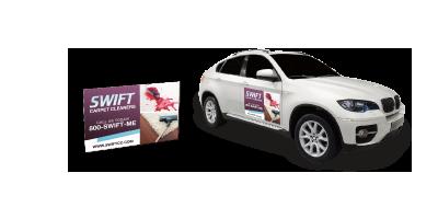 Vehicle Magnet Printing - Custom car magnets canada